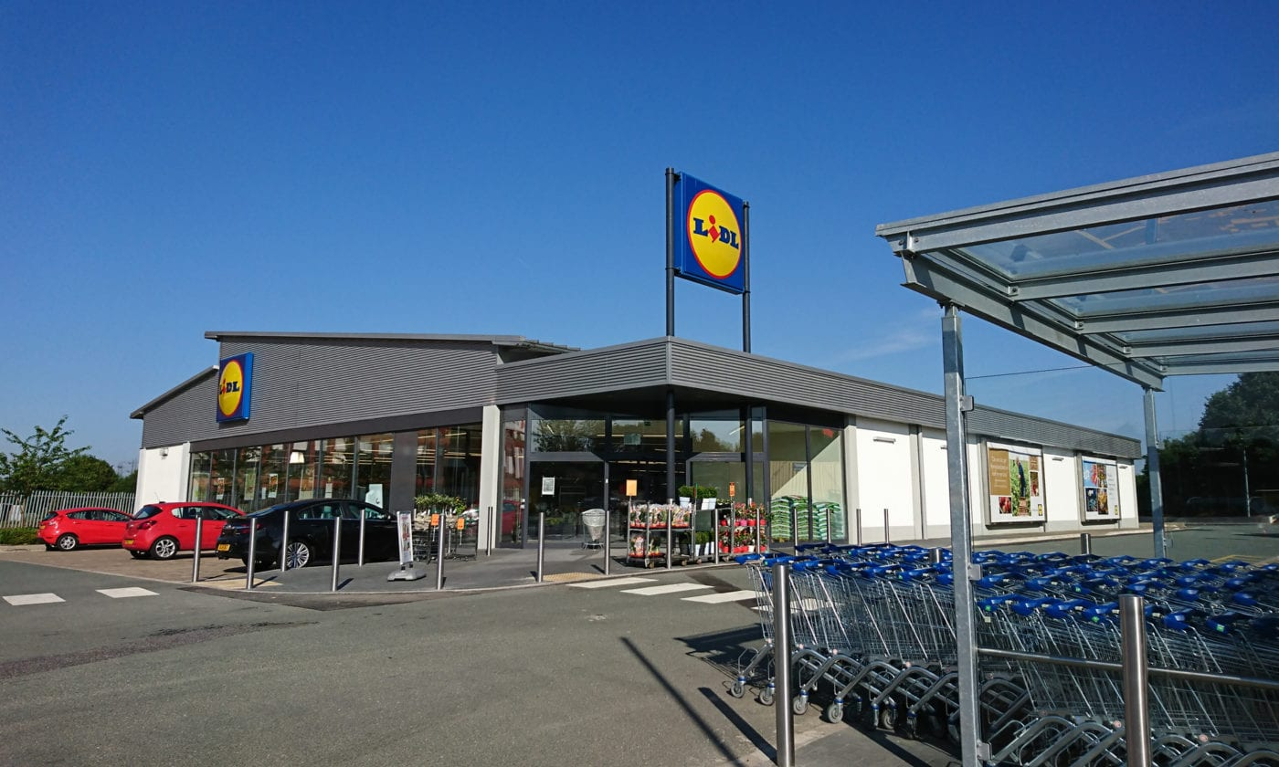 Supermarket extension
